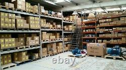 0.75KW 1 HP Three (3) Phase Electric Motor 1400 RPM 4 Pole IE2 Efficiency NEW