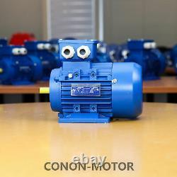 0.75kw 1HP 1400rpm shaft 19mm Electric motor Three-phase 415v
