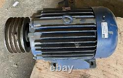 10HP Electric Motor 3-Phase 415v Cast Iron 1445RPM
