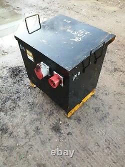 10 KVA 3 Three phase 110 volt 16/32 Amp Electric Transformer cabin £165+vat D10