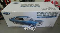 1/18 Classic Carlectablesford Falcon Xy Gt-ho Phase III Electric Blue Gmp Wheels