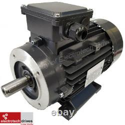 1.5KW 2 HP Three (3) Phase Electric Motor 2800 RPM 2 Pole 400V BRAND NEW