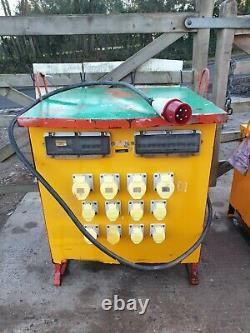 20 KVA three 3 phase 110 volt Electrical Site tools Transformer cabin £395+vat