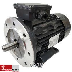 2.2KW 3 HP Three (3) Phase Electric Motor 1400 RPM 4 Pole IE2 Efficiency NEW