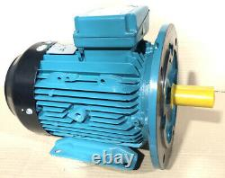3kW 3-Phase AC Electric Motor 2880RPM 2-Pole B35 Foot & Flange 100 Frame