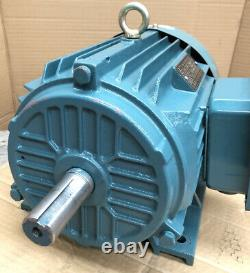 4kW (5.5HP) Electric Motor 3-Phase 415v Cast Iron 1410RPM 4-Pole B3 Foot 112M