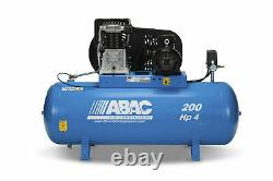 ABAC Pro B4900 200 FT4 Three Phase Air Compressor 18 CFM 200 Ltr Tank