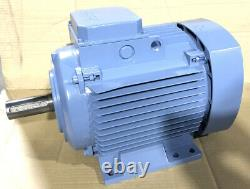 ABB 5.5kW 3-Phase AC Electric Motor 1400RPM 4-Pole B3 Foot 132 Frame