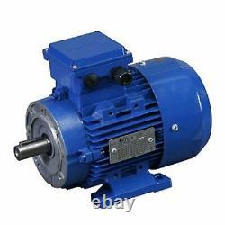 AMTEC Electric Motor 3 Phase Aluminum 0.25kW 6 Pole 900rpm 71 Frame B34 Mount