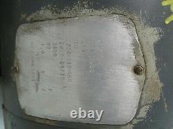 Baldor 10HP Electric Motor 208-230/460V, 10HP, M3711T