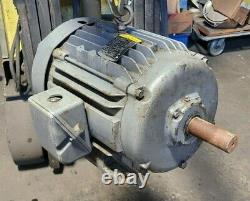 Baldor 20 HP Electric Motor 230/460 Vac 3 Phase 256t Frame 1760 RPM M2334t