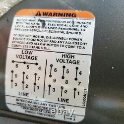 Baldor Electric Motor Cm3558t 2hp 1750rpm 145tc 208/230/460v 3 Ph Tefc New $269