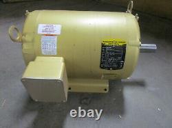 Baldor Em3309t 5hp Super-e Electric Motor 208-230/460v 3ph 1160rpm 215t Frame