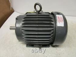 Baldor M8003t 1hp Electric Motor 230/460v 3ph 1740rpm 143t Frame