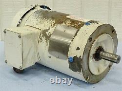 Baldor VWDM3558T Electric Motor 3-Phase 2HP 1725RPM 208-230/460VAC 6.5-6.2/3.1A