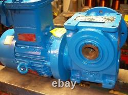 Brook Crompton 1.1kW (1.5HP) Flame-Proof Electric Motor Gearbox 295RPM 3-Phase