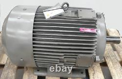 Brook Crompton 2-Speed 30kW 6Kw Electric Motor B3 Foot 2950RPM 1480RPM