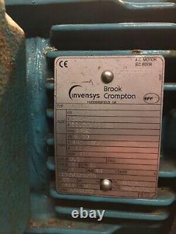 Brook Crompton 3 phase 5.5kw Electric Motor W-DF1328J