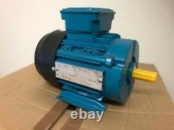 Brook Crompton High Efficiency 3 Phase Electric Motor Hz50/0.37kW Hz60/0.43kW