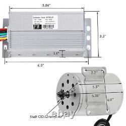 Brushless 48v 1800w Electric Motor Full Kit Controller Battery Scooter Go Kart