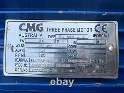 CMG 3 Phase Electric Induction Motor 5.5 kW 1450 RPM