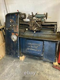 Colchester Chipmaster centre lathe 5x 20 good condition. 3phase
