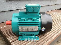 Crompton Greaves 4 Pole 1400 RPM 3 Phase Electric Motor Aluminium Foot Mount IE2