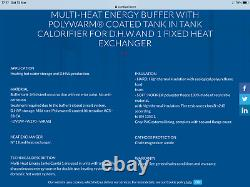 Eco combi 2 multi fuel energy cylinder With Laddomat And Single And Three Phase