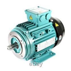 Electric Motor Aluminium 3 Phase 2.2kW 3HP 2 Pole 2800 RPM 90L Frame B34 IE2