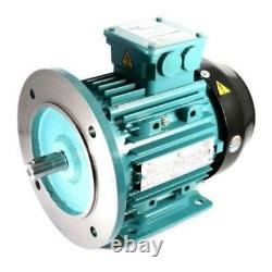 Electric Motor Aluminium 3 Phase 5.5kW 7.5HP 2 Pole 2800 RPM 132S Frame B35 IE2