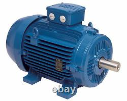 Electric Motor, Three Phase, 3ph, 3kW, 4 pole 1400 rpm, WEG, 4HP, 100 frame