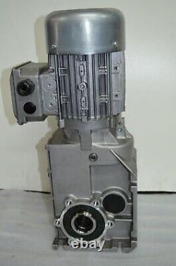 Electric gear motor Lenze 220/440 V 3 phase 3.0KW inverter duty motor 120HZ