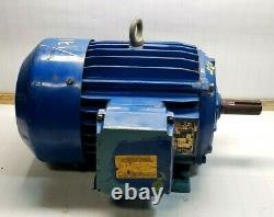 Elektrim 2 HP Ac Electric Motor 230/460 Vac 184t Frame 3 Phase Tefc Enclosure