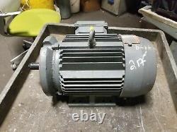Emerson E-line 3 HP Electric Motor 208-230/460 Vac 3500 RPM 182tc Frame 3 Phase