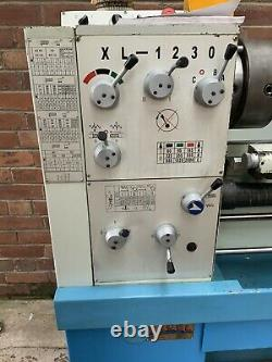 Excel XL-1230 Gap Bed Metal Lathe with Accessories 3 Phase