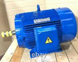 GEC Alpak 15kW 3-Phase AC Electric Motor 2900RPM 2-Pole B3 Foot 160 Frame