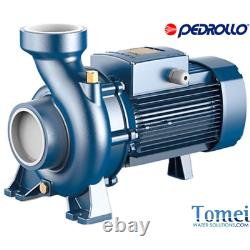 HF 4 PEDROLLO Three-phase centrifugal High flow rates Pump Made in Italy 1 HP