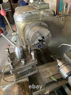 Harrison 11 inch swing Lathe, 3 phase metal Working lathe, working
