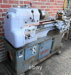 Harrison 12 inch Swing Metal Working Lathe with Gap Bed, 3 Phase