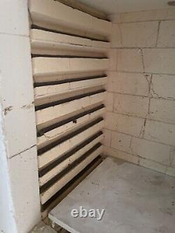 Large electric pottery kiln single or three phase