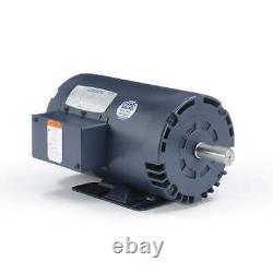 Leeson 116595.00 Electric Motor 3 HP 1800 Rpm 3PH 208-230/460 Volt 56HZ Frame
