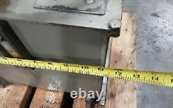 Leeson 1 HP electric motor C6C17FC7B 1725 RPM HYDRAULIC UNIT4.5 GAL #478TAW