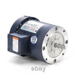 Leeson Electric Motor 110047.00 3/4 HP 1725 Rpm 3-PH 208-230/460 56C Frame