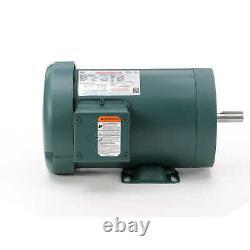 Leeson Electric Motor 119417.00 2 HP 3490 Rpm 3PH 208-230/460 Volt 56C Frame
