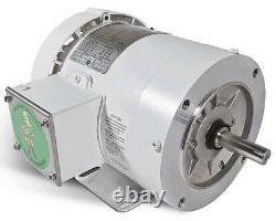 Leeson Electric Motor 121867.00 C143T17WK11A 1 HP 1760 Rpm 3-PH 208-230/460 Volt