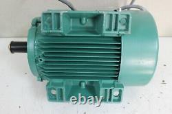 Leroy Somer LS100L Electric Motor 230V 60Hz 1720 rpm 3.7 KW 13.50 Amp 3 PhaseNew