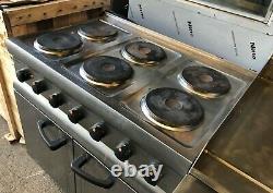 Lincat Silverlink 600 Electric Oven Range 6 Plate Cooker Eslr9c Three Phase