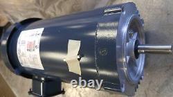 MOTOR 3HP 208-230V/460V 3450RPM Frame 56C, TEFC FRANKLIN ELECTRIC 53077