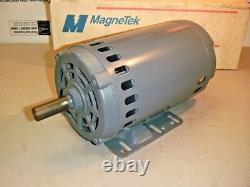 Magnetek 818290901 Electric 3-HP Motor 380/190 VAC 1725-RPM 3PH 60HZ Rot=RCC