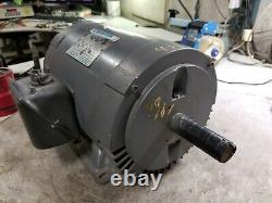 Marathon 5 HP Electric Ac Motor 208-230/460 Vac 1745 RPM 3 Phase 184tz Frame